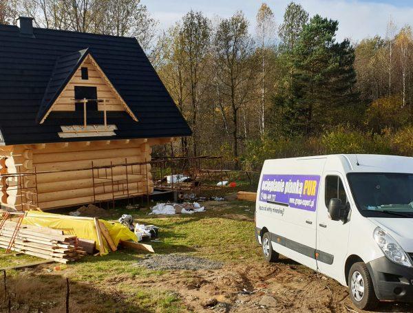 Ocieplanie natryskowe domku w Rzeszowie