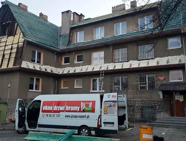 Ocieplanie spółdzielni mieszkaniowej w Witowie